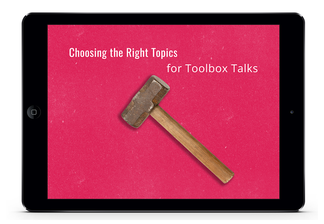 safety toolbox talks