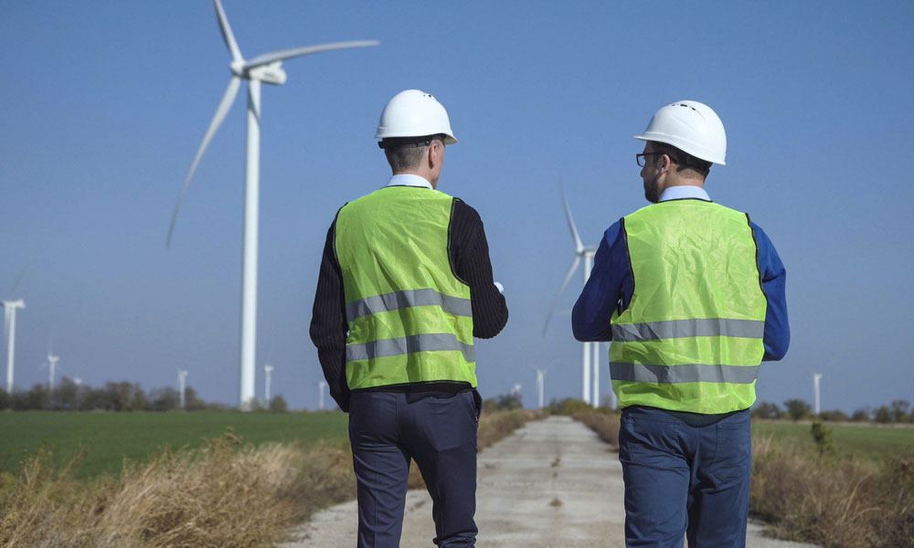 Wind farm contractor
