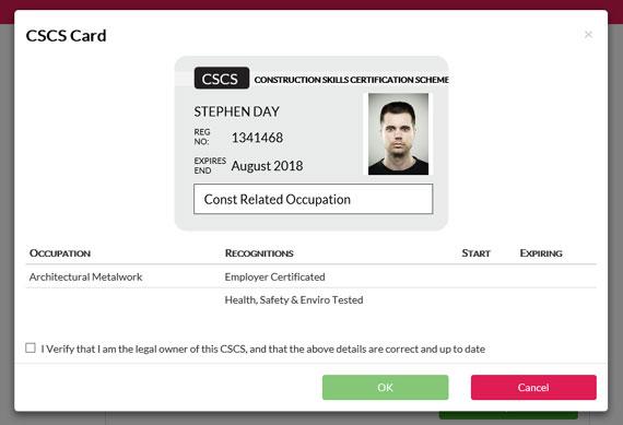 CSCS Card Check 3