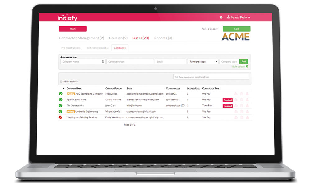 contractor safety management software