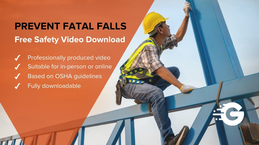 Construction Falls Safety Training Video