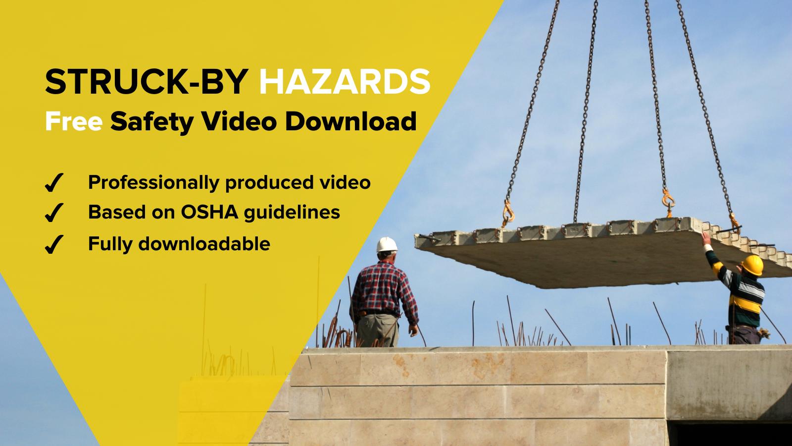 Free Video Struck-by Hazards